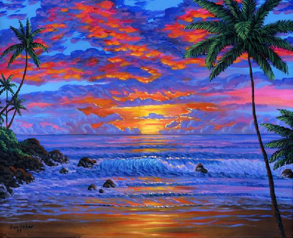 Beautiful Sunsets Pictures Easy To Paint